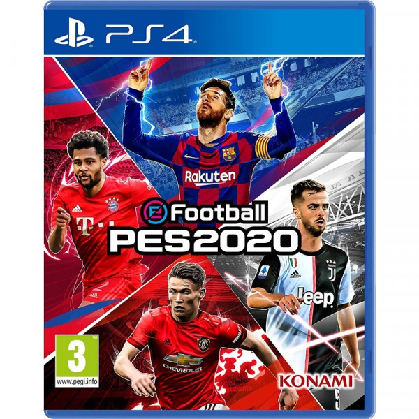 實況20足球  索尼 PS4 pro 游戲光盤
