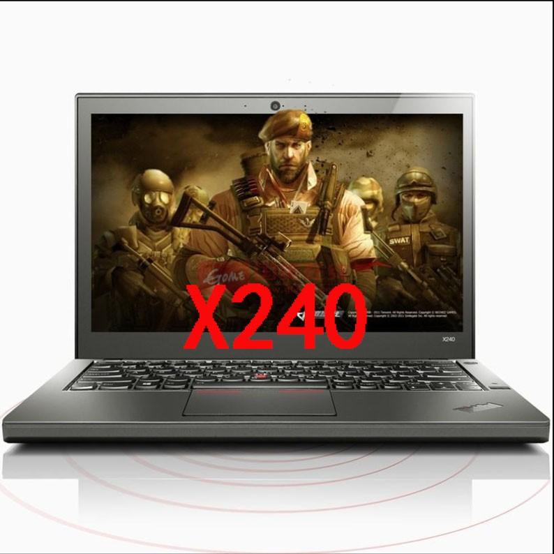 联想12寸电脑X240 四代I5轻薄便携便携本商务办公笔记本