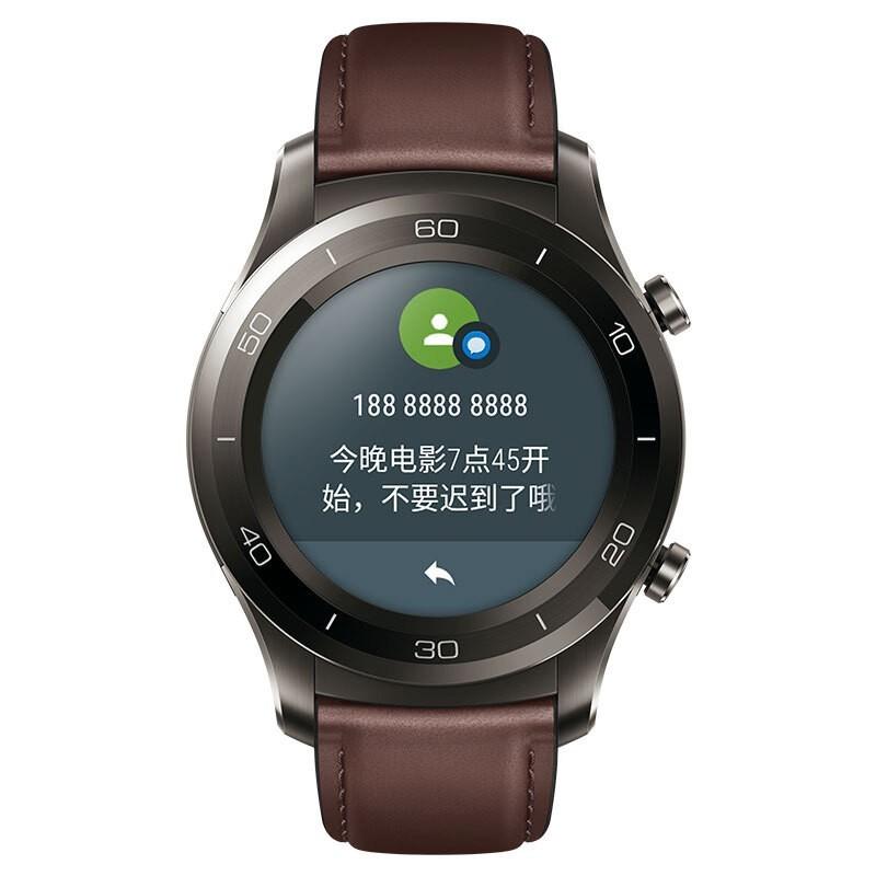 華為智能運動手表watch 2 pro鈦銀灰esim獨立通話