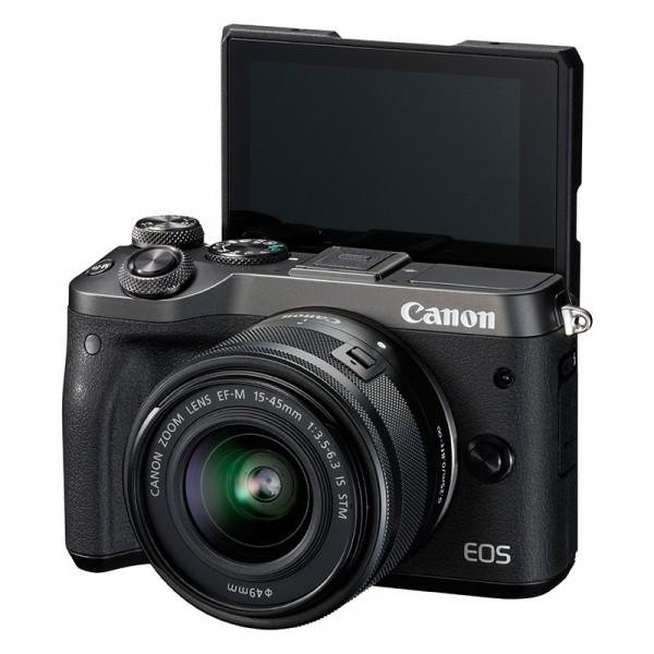 佳能M6套机(含15-45mm)数码微单相机