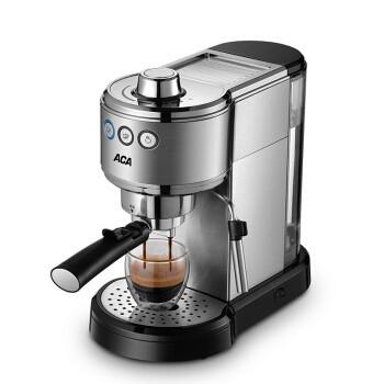 北美電器ACA意式15bar 即熱式半自動一鍵花式咖啡機