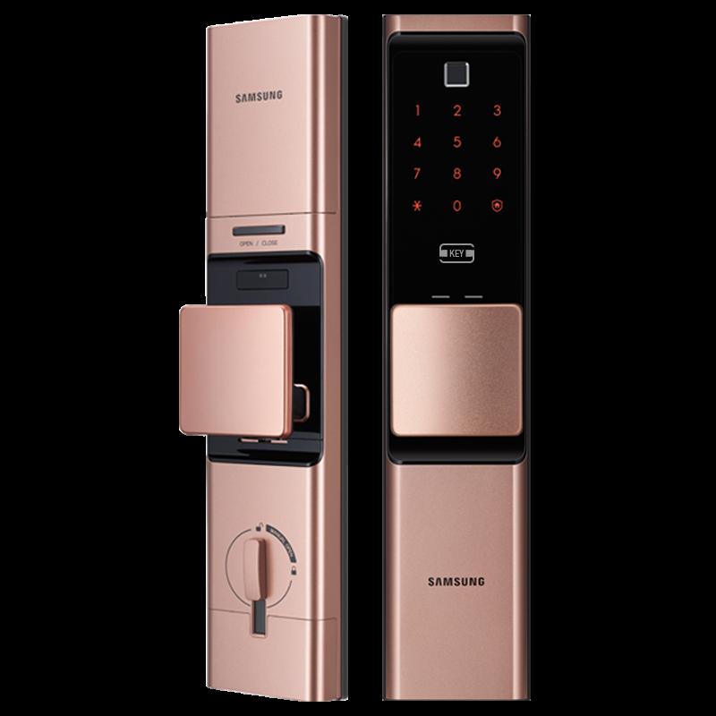 全新三星指纹锁密码锁家用锁智能锁手机远程开锁电子锁DR719