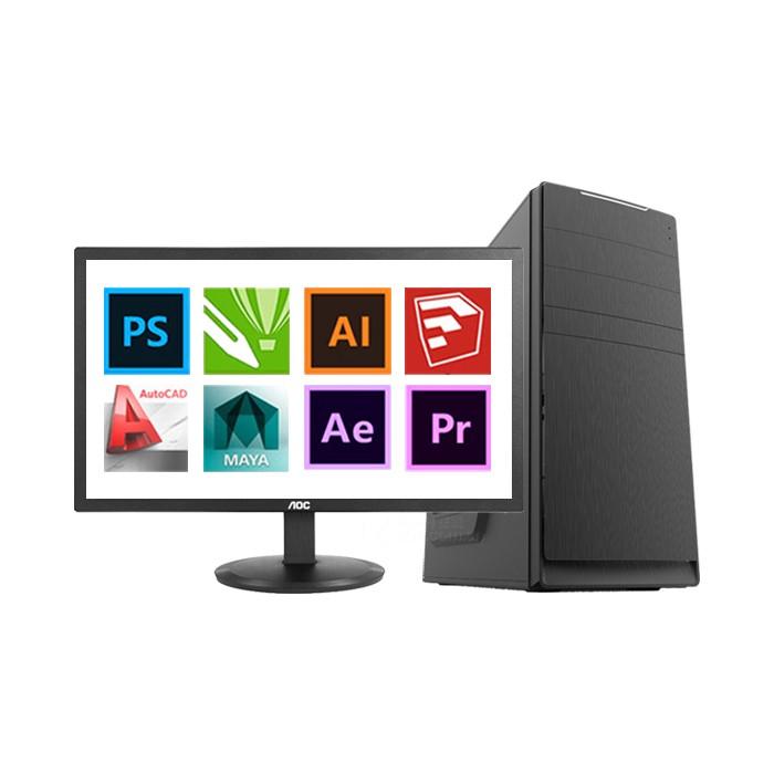 设计师电脑租赁i7-9700大型3D渲染4K视频剪辑平...