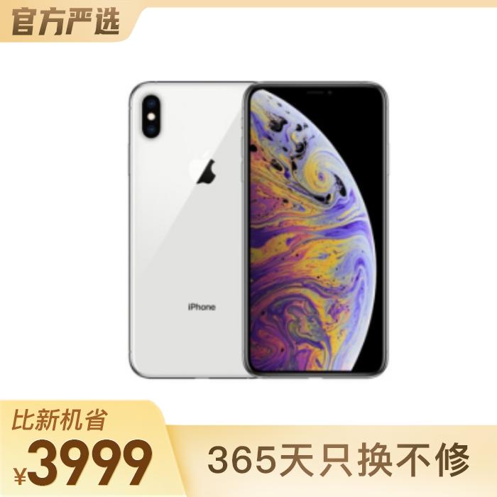 iPhone XS Max 銀色 256GB 面容識別