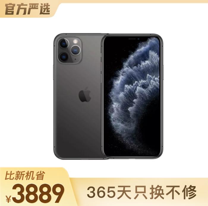 iPhone 11 Pro Max 深空灰 64GB 國行面容識別