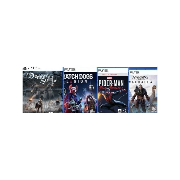 索尼PS5游戏光盘合集