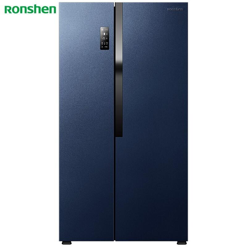 容声 536升对开门冰箱变频风冷无霜干湿分储晶钻面板空间净化