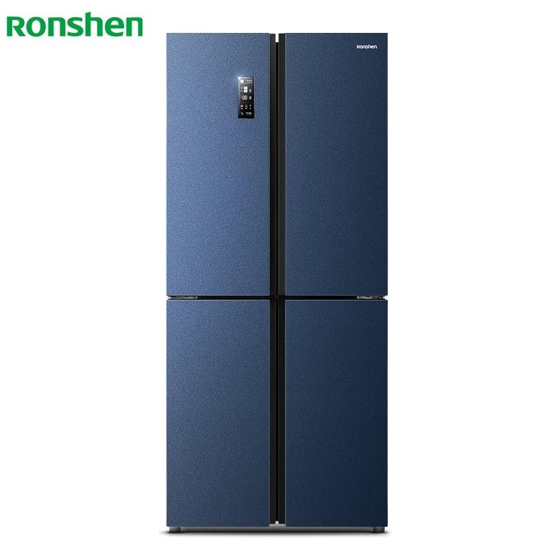容声 430升十字冰箱一级变频纤薄风冷无霜温湿双控空间净化