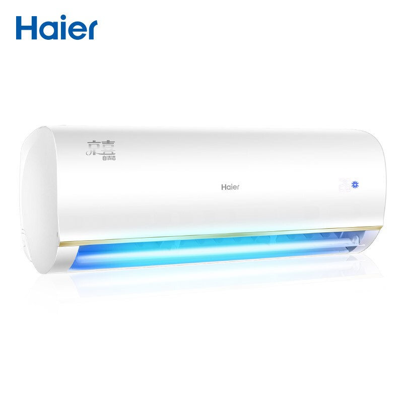 海爾 1.5匹變頻壁掛式空調京喜新一級能效自清潔智能wifi