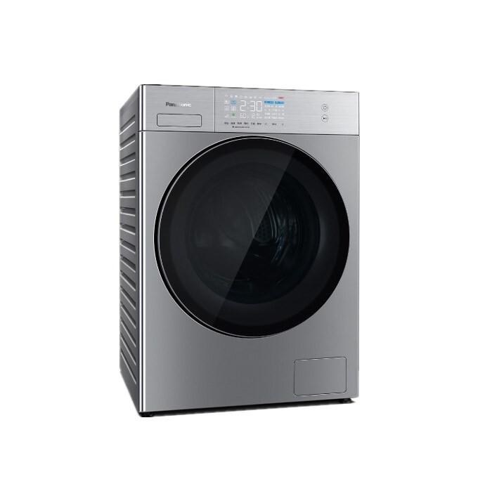 松下 滾筒洗衣機10kg洗烘一體機納諾怡除菌護衣光動銀除菌