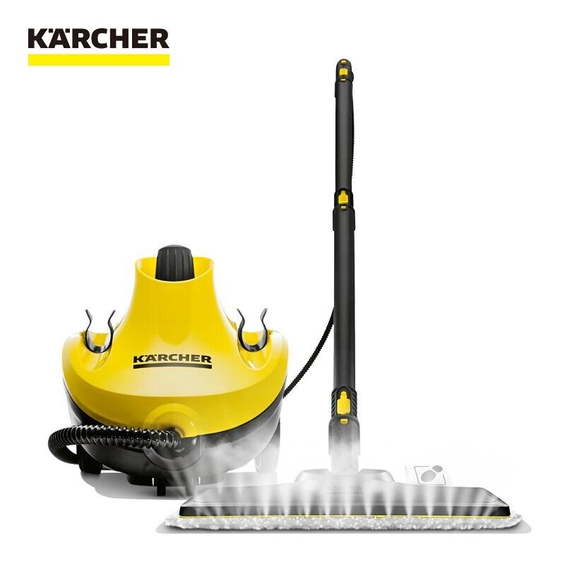 卡赫 蒸汽拖把多功能高溫蒸汽殺菌清潔機家用拖地機擦地機