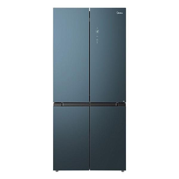 美的 509升电冰箱十字对开门净味系列一级能效双变频风冷无霜