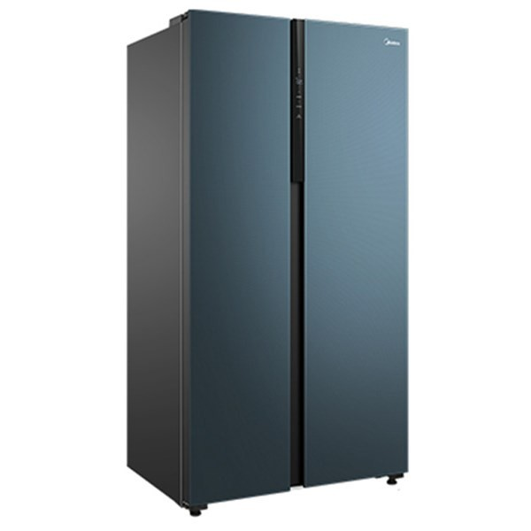 美的 600升对开电冰箱智能家电双变频一级能效节能省电家用