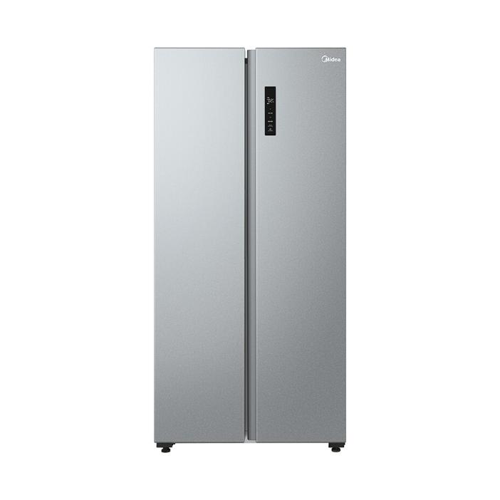 美的 470升对开电冰箱智能家电一级能效双变频风冷无霜节能