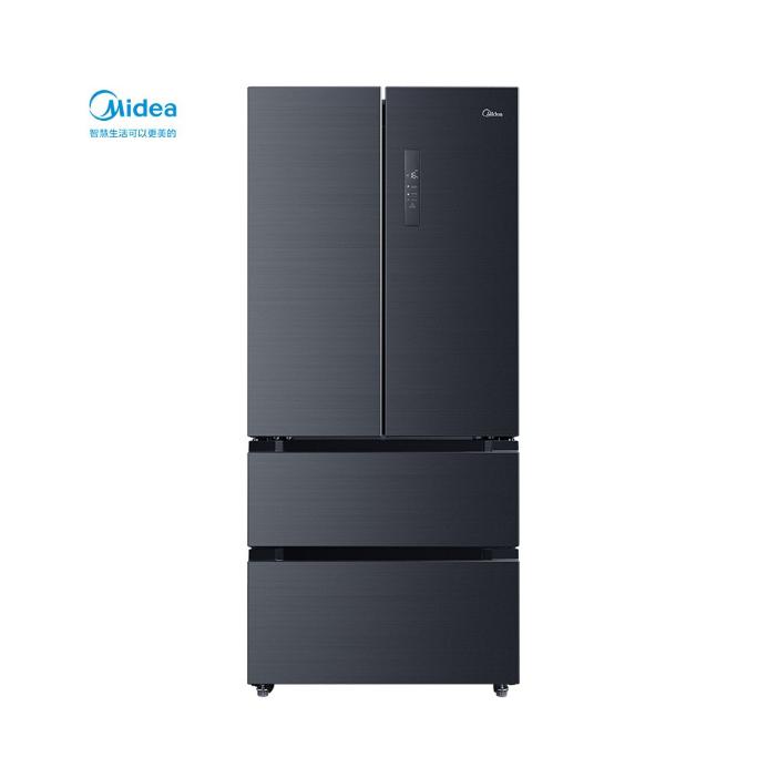 美的 508升多门冰箱19分钟急速净味除菌一级能效双变频