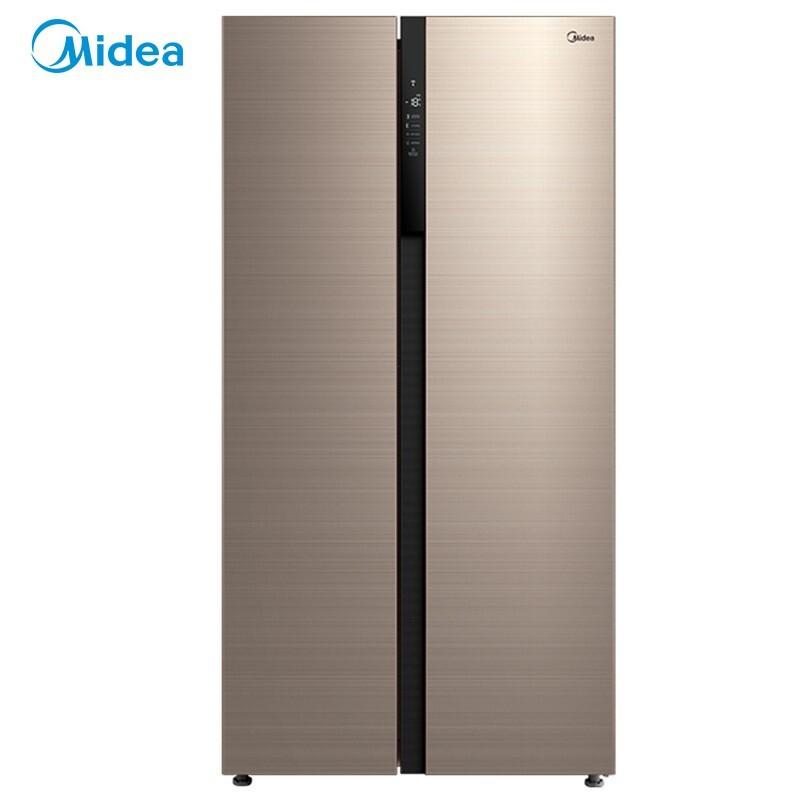 美的 541升对开电冰箱智能家电变频风冷一级能效冰箱大容积