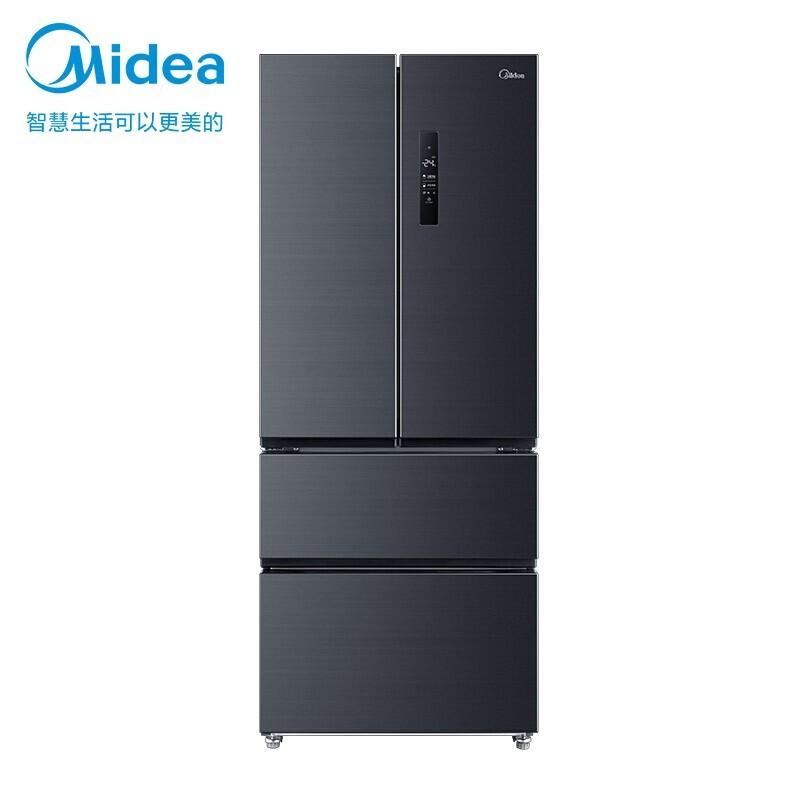 美的 426升多门对开冰箱19分钟急速净味除菌风冷无霜一级