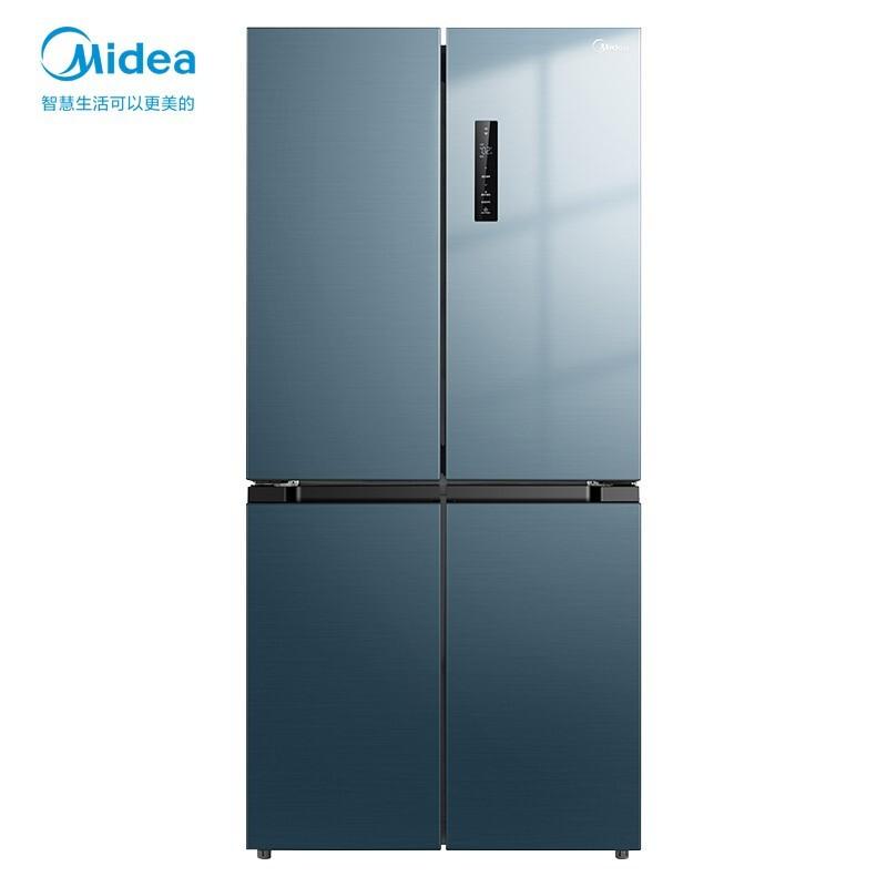 美的 果润精储系列472升十字电冰箱家用超薄全域温湿精控智能