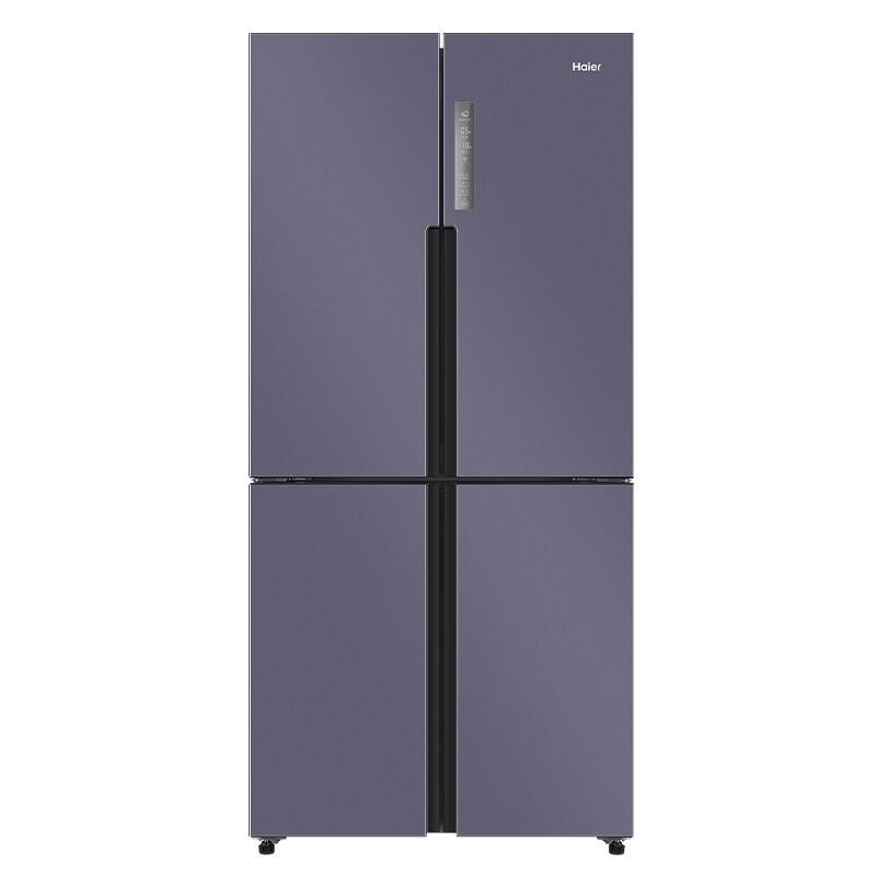 海尔 536升星云紫变频风冷无霜十字门冰箱干湿分储DEO净味