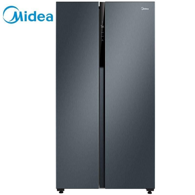 美的 542升对开电冰箱智能家电独立母婴空间双变频风冷无霜