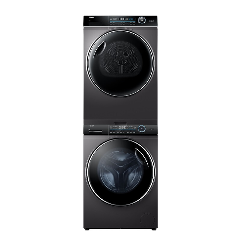 海爾 一級能效滾筒洗烘套裝10公斤洗衣機+烘干機商品共2件