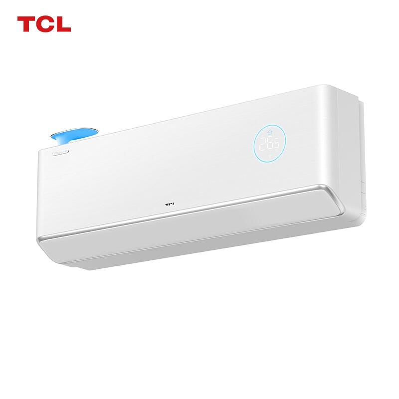 TCL 1.5匹 靈悉新一級能效新風空調變頻冷暖壁掛式空調