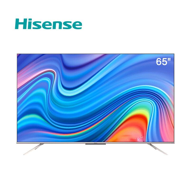 海信 65英寸130高色域电视机运动补偿AI声控32GB内存