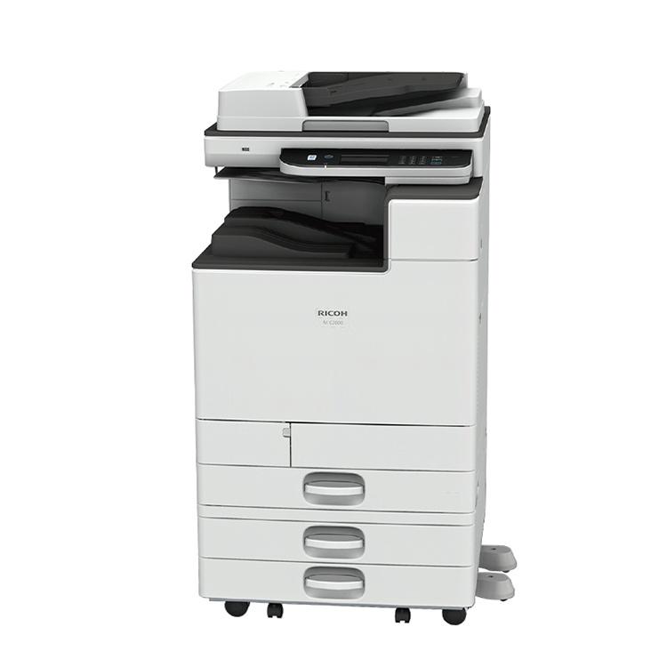 成都理光全新彩色复印机复合机打印机出租租赁三年可赠送