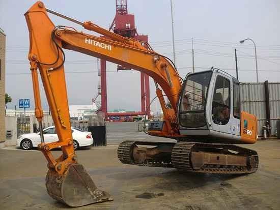 上海市日立120 12T挖掘機出租