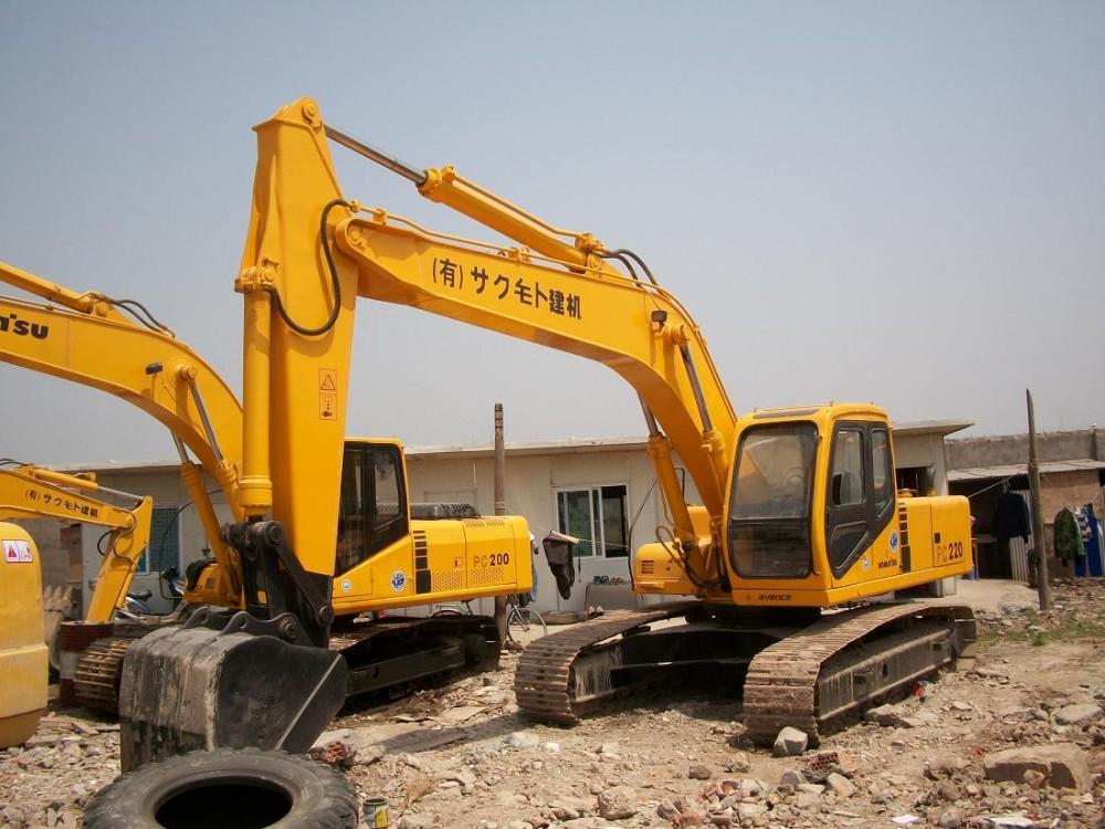 江門市小松pc200 20T挖掘機出租