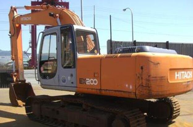 吉安市日立200 20T挖掘機出租