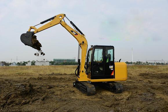 北京市卡特60 6T挖掘機出租