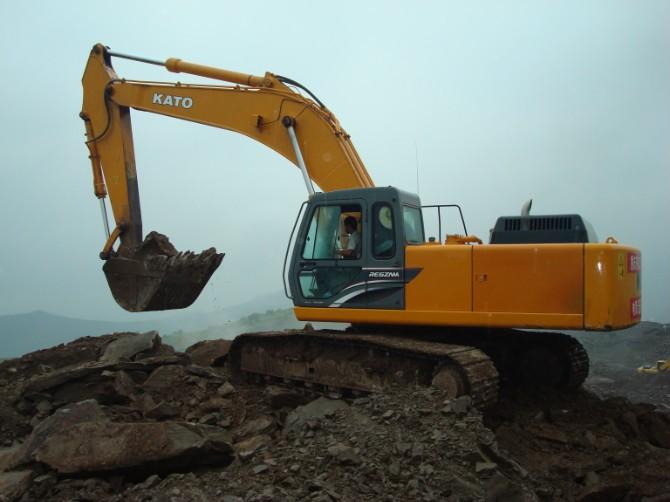廣州市加藤60 6T挖掘機出租