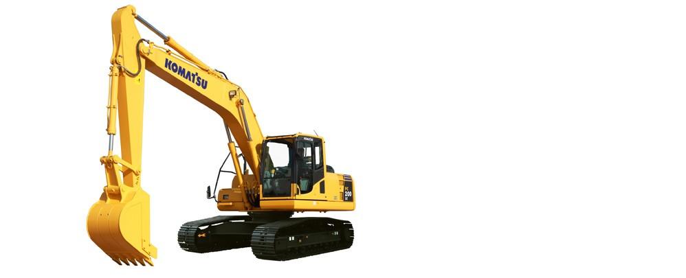 上海市小松pc200 20T挖掘機出租