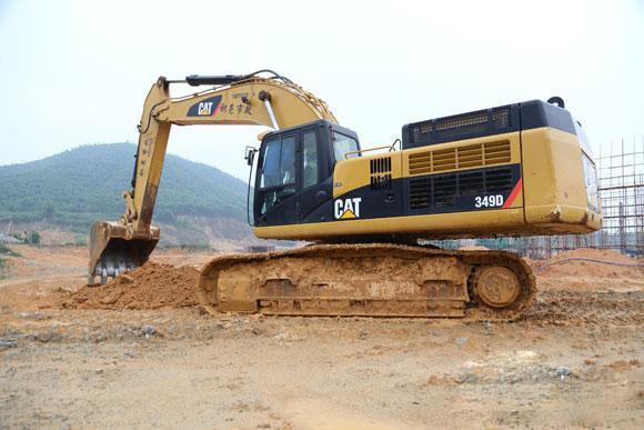 惠州市卡特350 35T挖掘機出租
