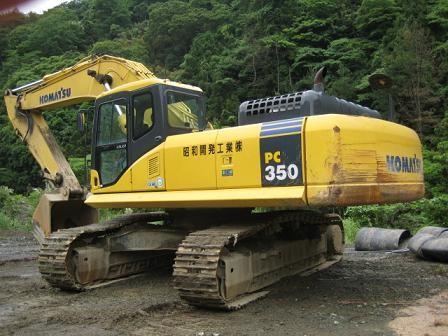 深圳市小松pc350 35T挖掘機出租