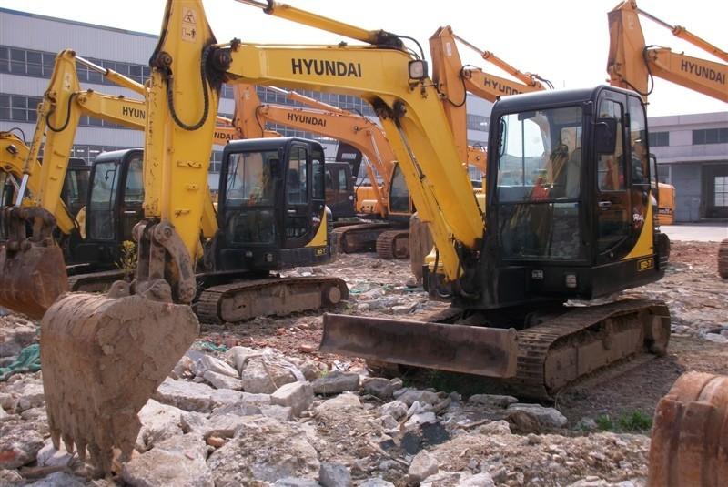 长沙市现代60 6T挖掘机出租