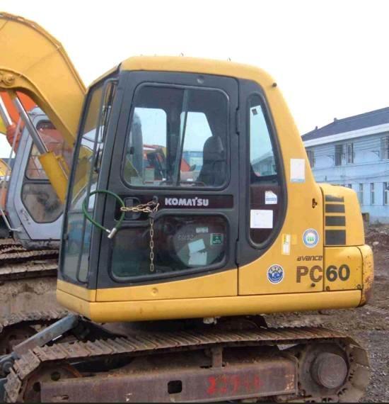 惠州市小松pc60 6T挖掘機出租