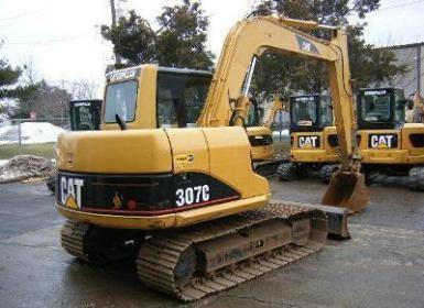 长沙市卡特307 7T挖掘机出租
