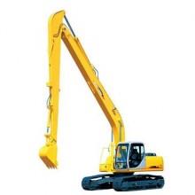 嵩明市加长臂200长臂20米 20T挖掘机出租