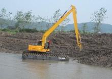 珠海市小松pc水陆120 12T挖掘机出租
