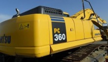 泉州市小松pc360 36T挖掘机出租