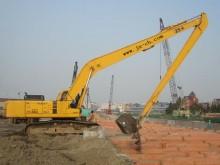 珠海市挖机加长臂18米 挖掘机出租