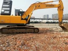 枣庄市现代225 22.5T挖掘机出租