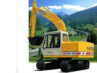 广州市加藤450 12T挖掘机出租