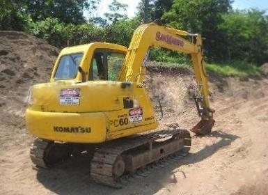 廣州市小松60 6T挖掘機出租