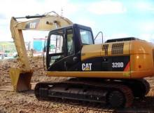 六盘水市卡特320 32T挖掘机出租