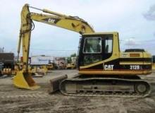 福州市卡特312B 32T挖掘机出租