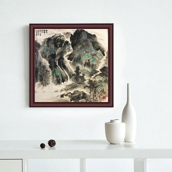 卢荆 《中国画-山水2》租赁